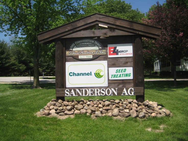 New at Sanderson Ag: